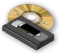 Videobanden overzetten naar DVD